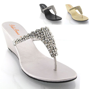 White High Heel Jelly Shoes