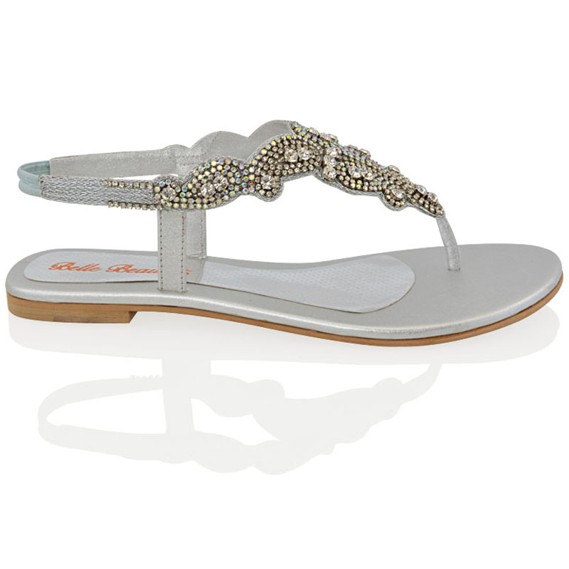 Beautiful Sparkly Flat Shoes