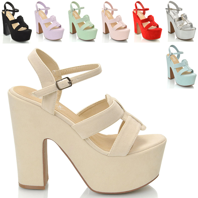 d5fa9fcf417 ... All Sole Ladie chunky sole high heel platform peeptoe strappy sandal  shoes casual formal clubbing size 3 4 5 6 7 8.jpg ...