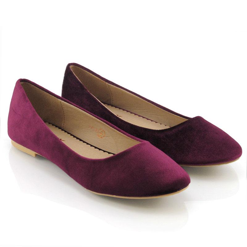 Flat Bridesmaid Shoes Black