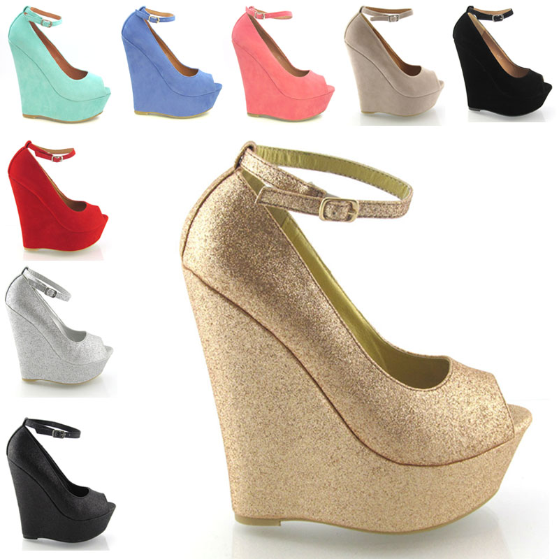 Simple  High Heeled Shoessummer Platform Shoes 2013 Women39s SandalsinSandals