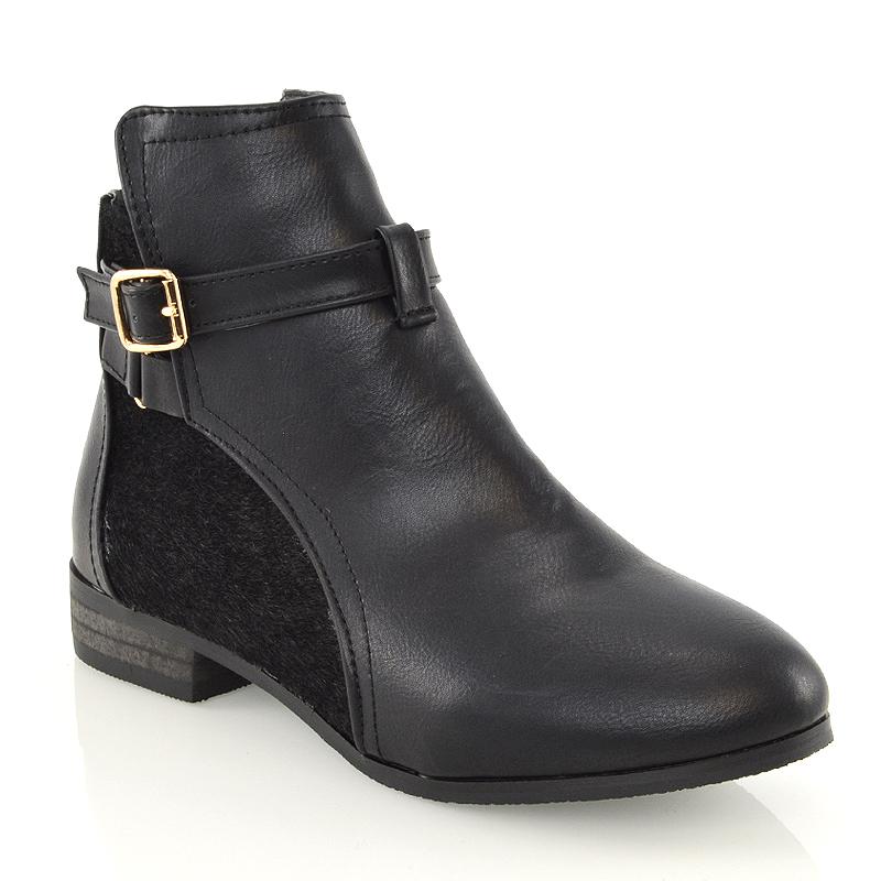 Flat Pony Skin Shoes Zip