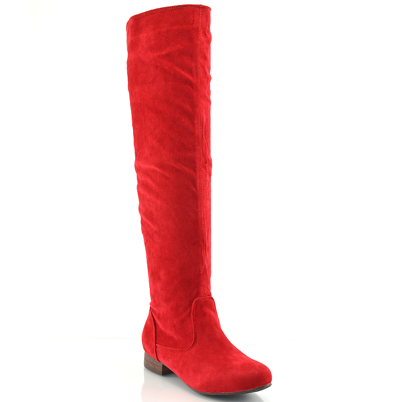 Cool 2014 New Women Suede Ankle Boots Red Bottom High Heels Ankle Boots Autumn And Winter Warm ...
