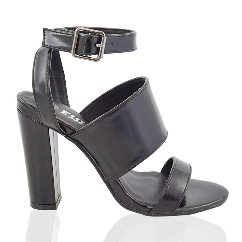 block heel ankle sandals womens strappy