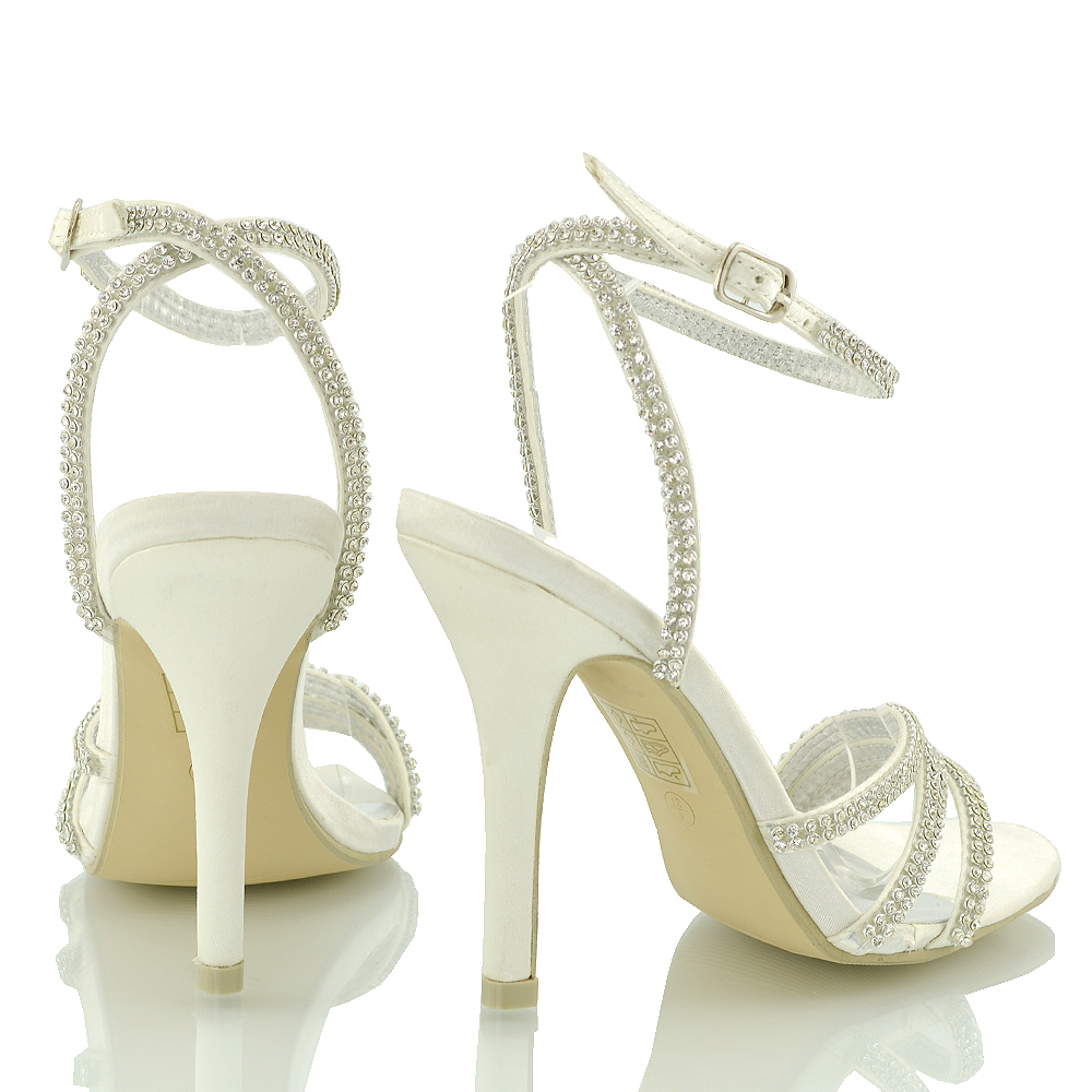 885d95066fa ... KC-11 Silver Sparkly rhinestones strappy prom briadal sandal shoes size 3  4 5 6 7 8.jpg · KC-11 Silver diamante sparkly ankle strap ...