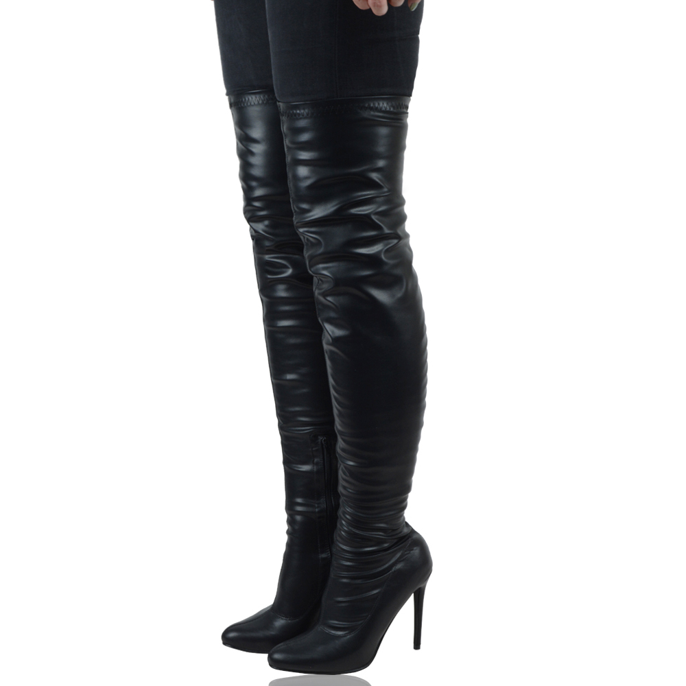 Shop theotherqi.cf for stylish women's over the knee boots at very competitive price. Sexy high heel thigh high boots or thigh high platform boots, Milanoo .